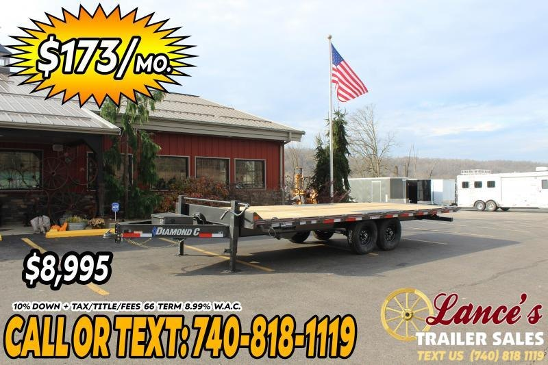 2021 Diamond C 22' Power Tilt Equipment Trailer