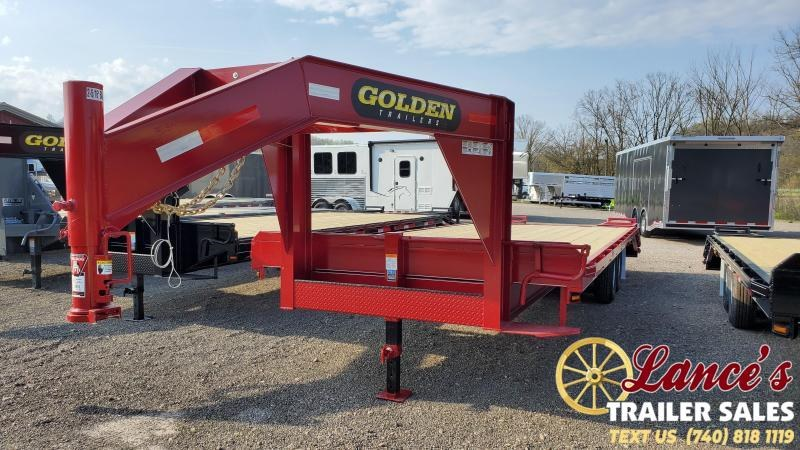 2021 Golden 25' (20'+5') Equipment Trailer
