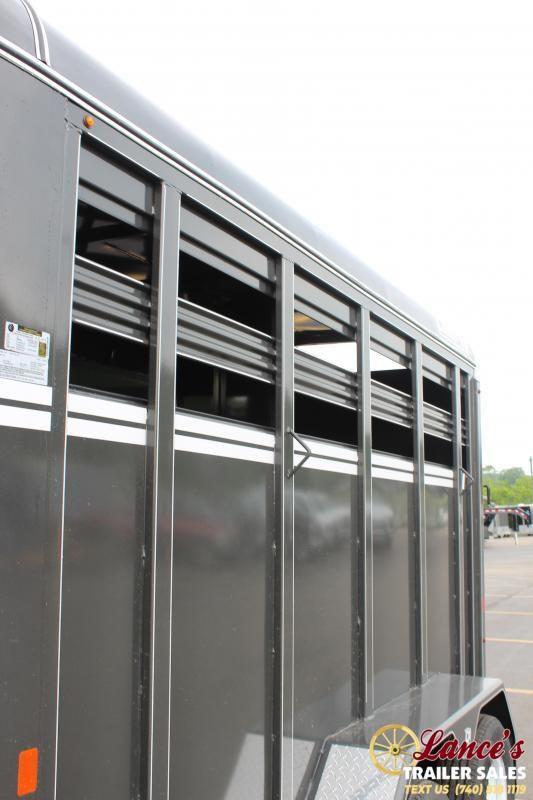 2021 CornPro 2 Horse Slant Load Horse Trailer