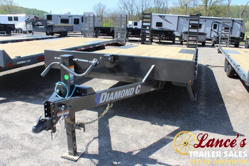 2021 Diamond C 20' Deck Over Equipment Trailer