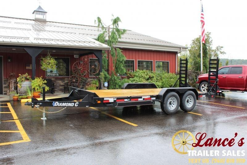 2020 Diamond C 18' Equipment Trailer