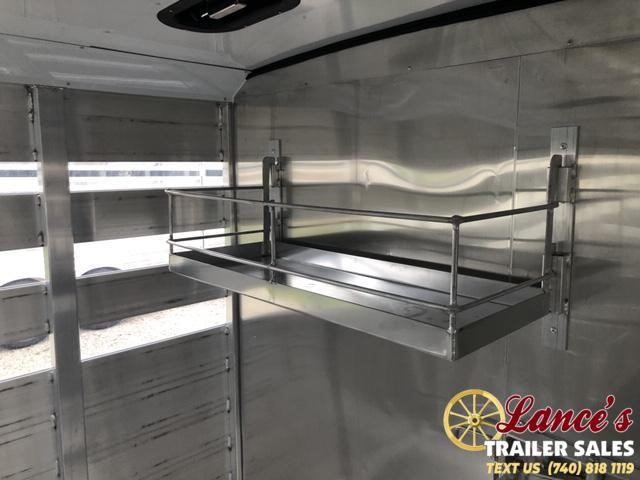 2021 Exiss 24' Low Pro Pen System Livestock Trailer