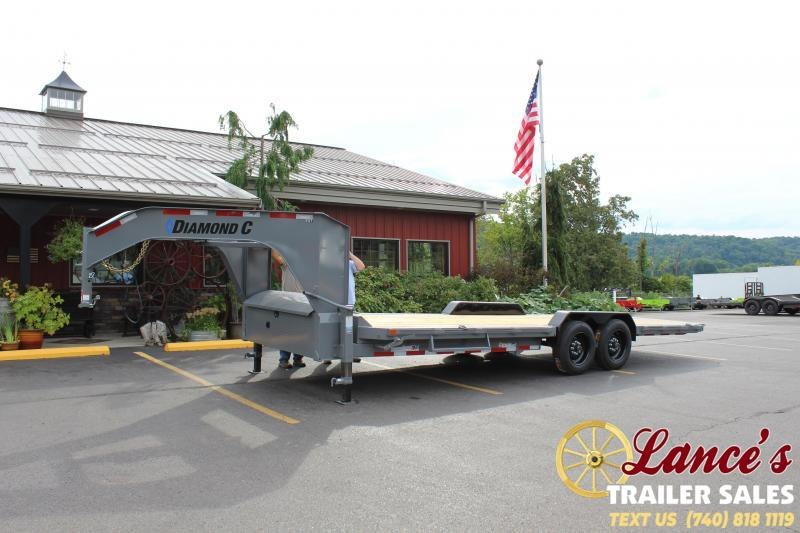 2020 Diamond C 24' Tilt Equipment Trailer