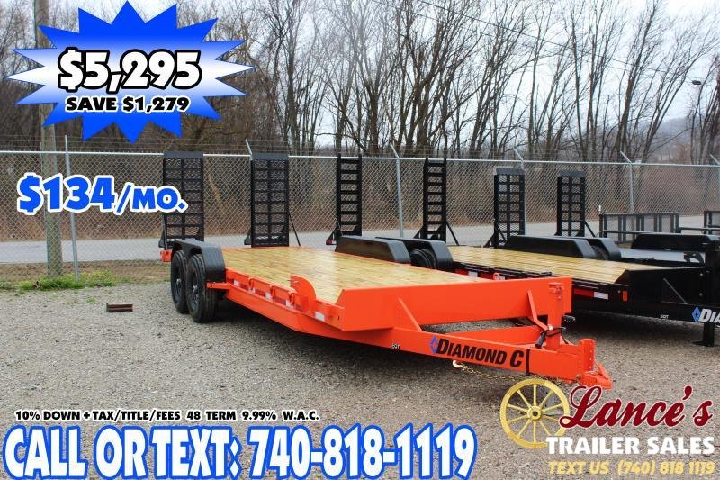 "2020 Diamond C 82""x20' Equipment Trailer"