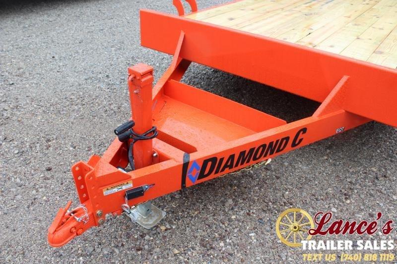 "2020 Diamond C 82""x20' Equipment Trailer"