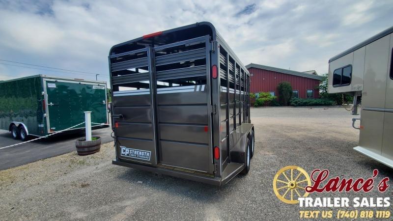 2021 CornPro 16' Deluxe Livestock Trailer