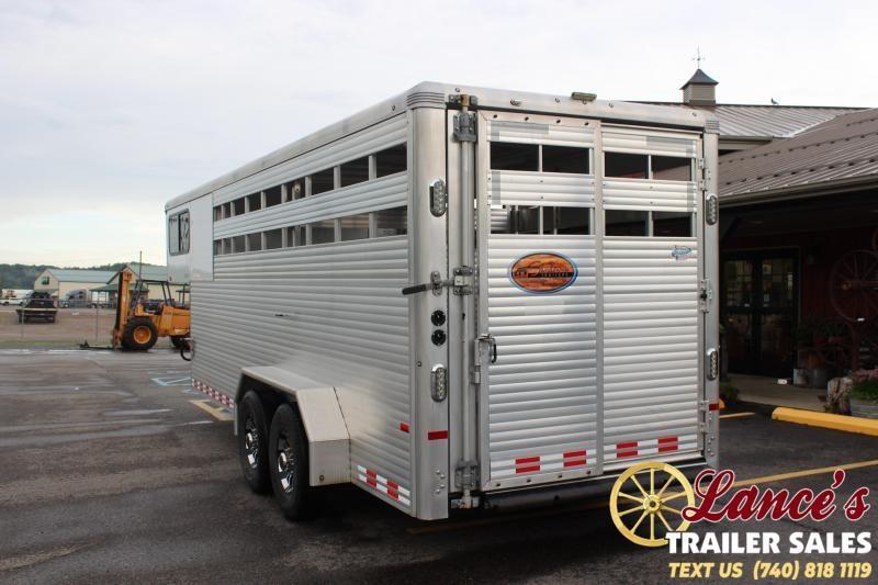 2015 Sundowner 20' Stock Combo Livestock Trailer