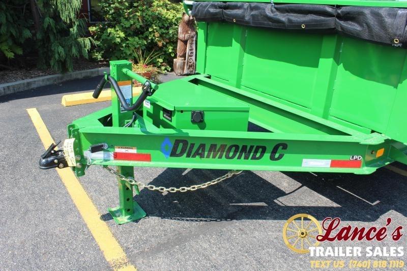 2021 Diamond C 14' Dump Trailer