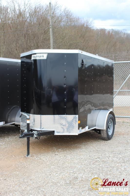 2020 Haulmark 5'x8' Enclosed Cargo Trailer