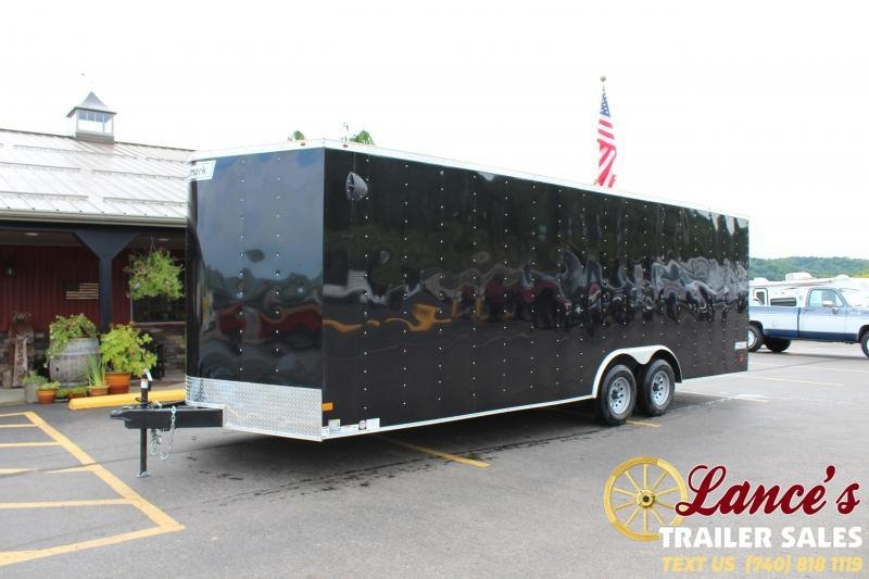 "2020 Haulmark 8'6""x24' Enclosed Car Hauler"