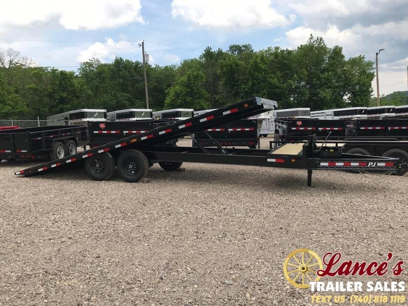 "2020 PJ 102"" x 24Ft. BUMPER pull TILT EQUIPMENT TRAILER"