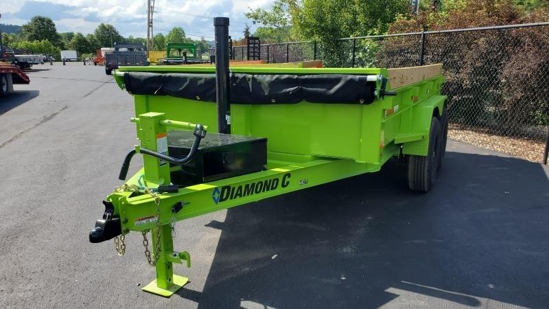 2021 Diamond C 12' HD Dump Trailer