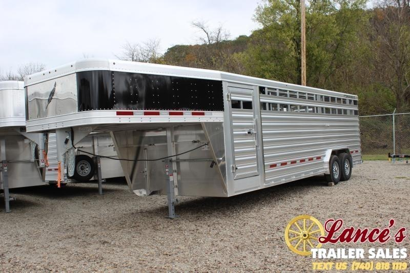 2020 Featherlite 8'x24' Show Cattle Livestock Trailer