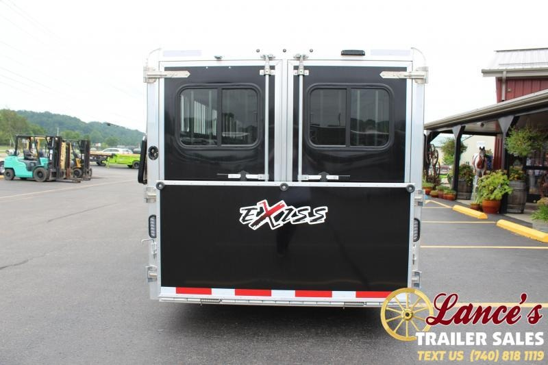 2021 Exiss 24' Low Pro Pen Livestock Trailer