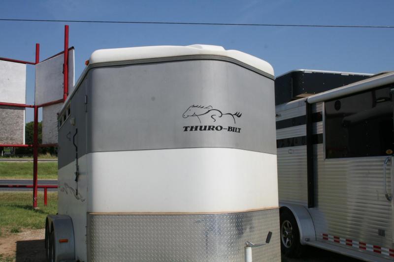 2012 Thuro-Bilt Wrangler Horse Trailer