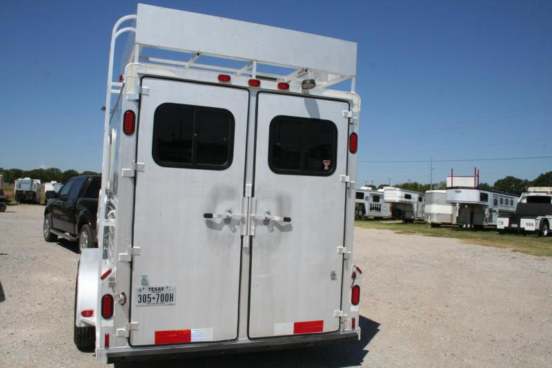 1996 Cherokee Trailers Bumper Pull Horse Trailer