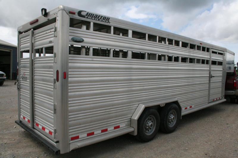 2016 Cimarron Trailers Lonestar Livestock Trailer