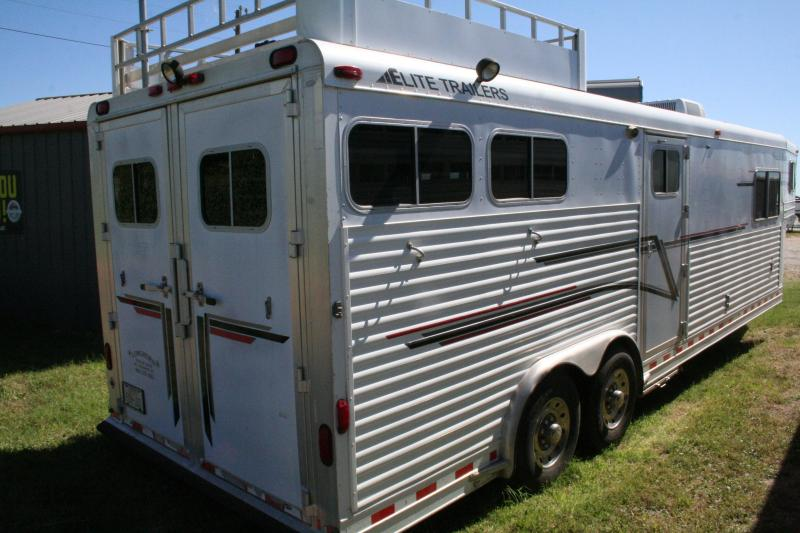 1999 Elite Trailers two horse LQ Horse Trailer