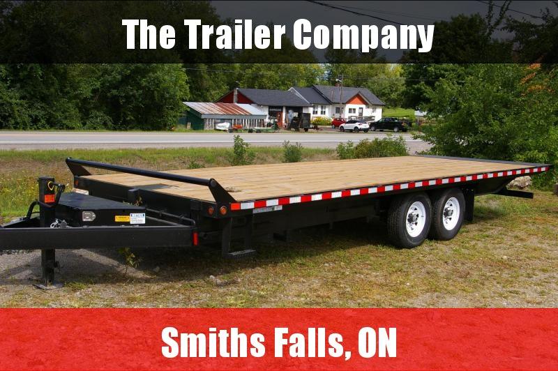 2022 Canada Trailers 8X24 EQUIPMENT TRAILER, HYDRAULIC TILT 14LB GVWR