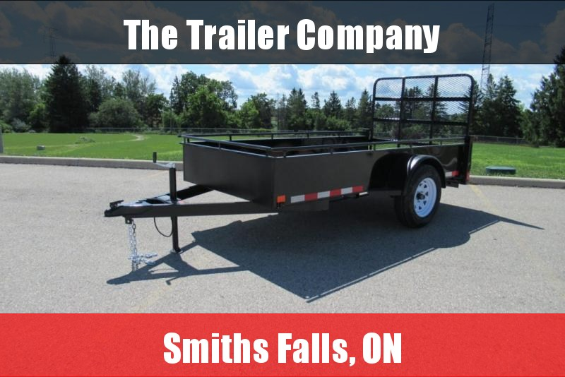 2022 Canada Trailers 7X12 UTILITY TRAILER, SPRING ASSIST RAMPS Utility Trailer