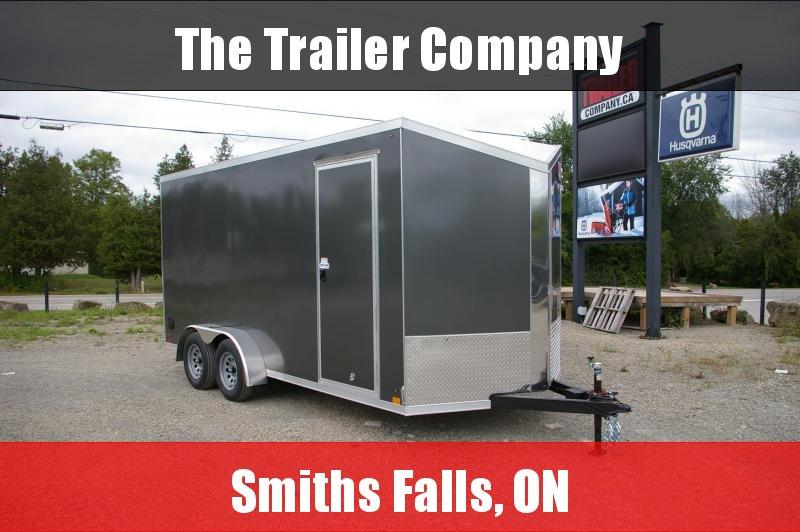 "2022 Cross Trailers 7X16 REAR RAMP, 84"" INT HT Cargo / Enclosed Trailer"