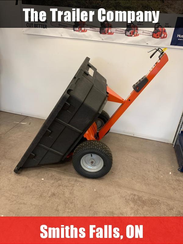 2020 Husqvarna 12.5 Cu. Ft. Poly Swivel Dump Cart (584 40 19-01) 584401901