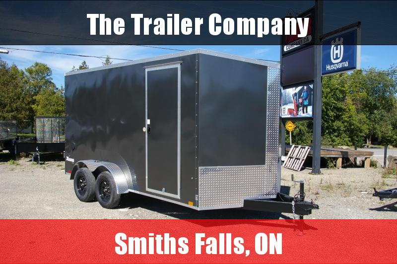 7X14 CARGO EXPRESS with REAR BARN DOORS, 84 INT HT Cargo / Enclosed Trailer