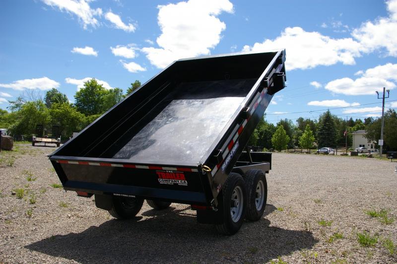 2019 Sure-Trac 6x10 with 5200lb Axles ST7210DOD-B-100 Dump Trailer