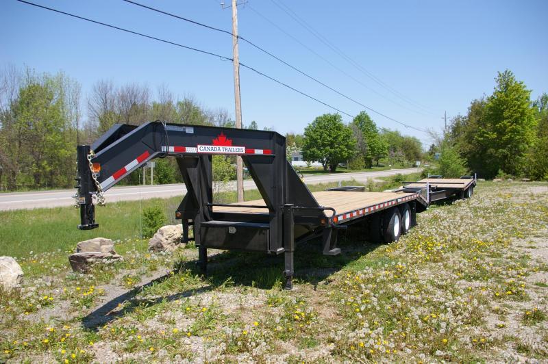 2022 Canada Trailers GNBT25-24KD 20+5 Gooseneck Equipment Trailer Equipment Trailer