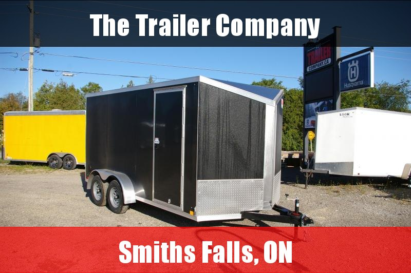 "2022 Cross Trailers 7X14 CARGO TRAILER, BARN DOORS, 78"" INT HT Cargo / Enclosed Trailer"