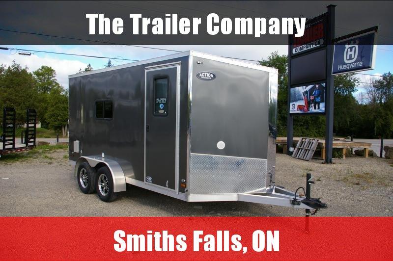 2020 Haulin Trailers 7X14 ALUMINUM Enclosed Cargo Trailer