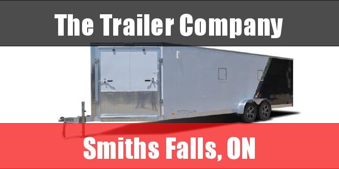 "2022 Cargo Express 7X27 SNOWMOBILE TRAILER, REAR RAMP, 76"" INT HT Snowmobile Trailer"