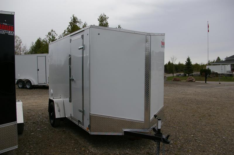2022 Discovery Trailers 712SAE Rover ET Trailer Enclosed Cargo Trailer