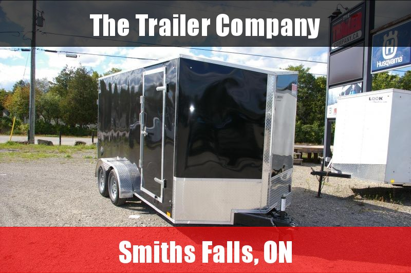 """2022 Discovery Trailers 7X14 RAMP DOOR, 78"""" INT HT Cargo / Enclosed Trailer"""