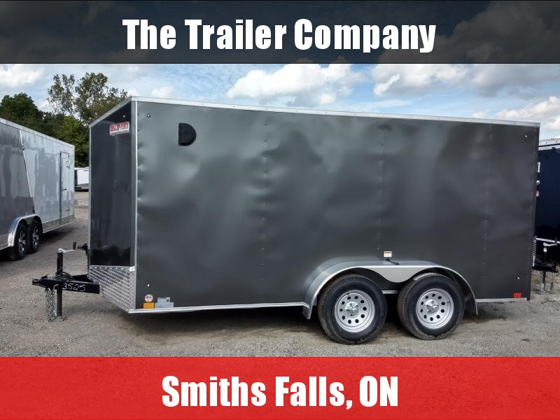 """2022 Discovery Trailers 7X12 CARGO TRAILER, RAMP, 84"""" INT HT Cargo / Enclosed Trailer"""
