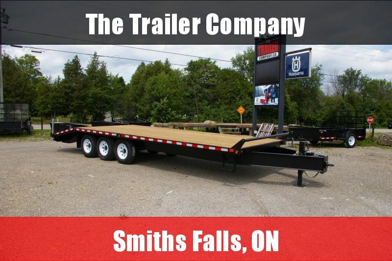 2022 Canada Trailers 102X25 EQUIPMENT DECKOVER TRAILER