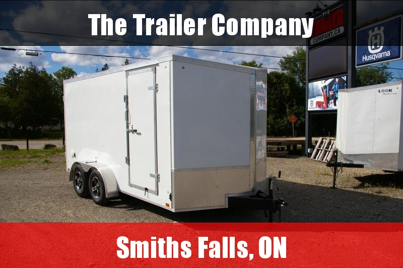 """2022 Discovery Trailers 7X14  BARN DOORS, 78"""" INT HT Cargo / Enclosed Trailer"""