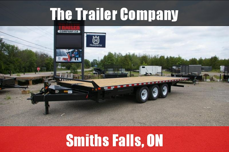 2022 Canada Trailers 8X24 EQUIPMENT DECKOVER TILT AND LOAD TRAILER