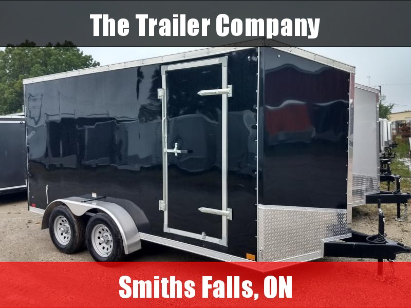 """2022 Discovery Trailers 7X16 CARGO TRAILER, RAMP, 84"""" INT HT Cargo / Enclosed Trailer"""