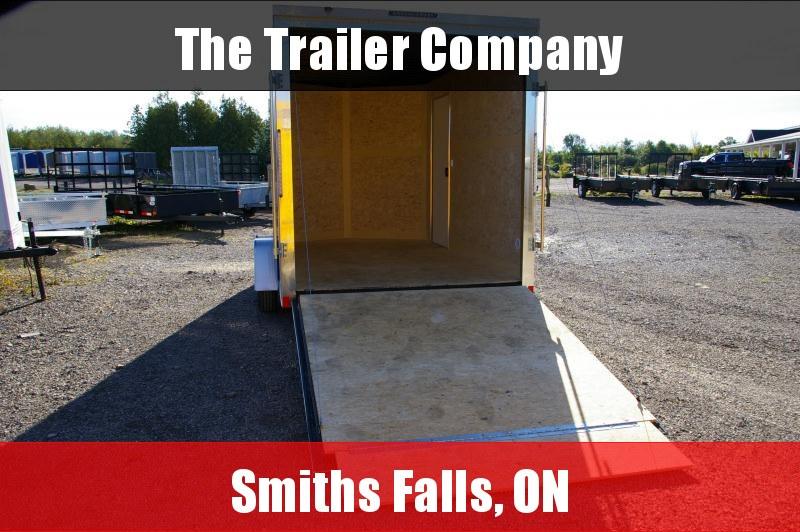 """2022 Cross Trailers 7X12 CARGO TRAILER, RAMP DOOR, 84"""" INT HT Cargo / Enclosed Trailer"""