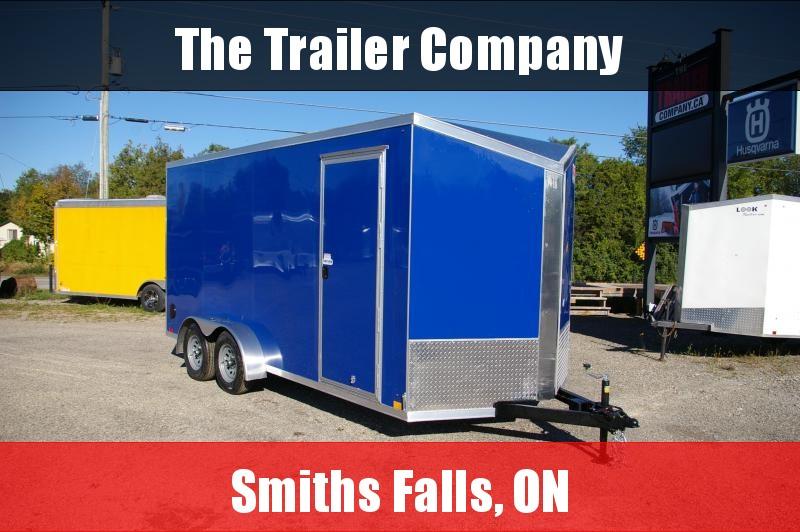 """2022 Cross Trailers 7X16 CARGO TRAILER, RAMP DOOR, 84"""" INT HT Cargo / Enclosed Trailer"""