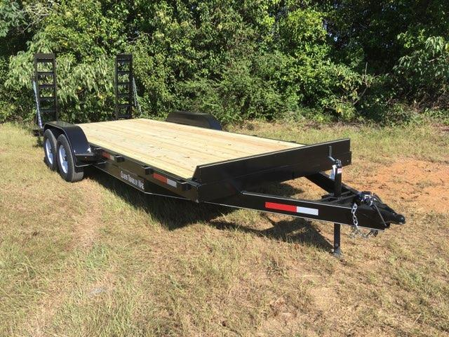 CTS 7X24 EQ14K Equipment Trailer