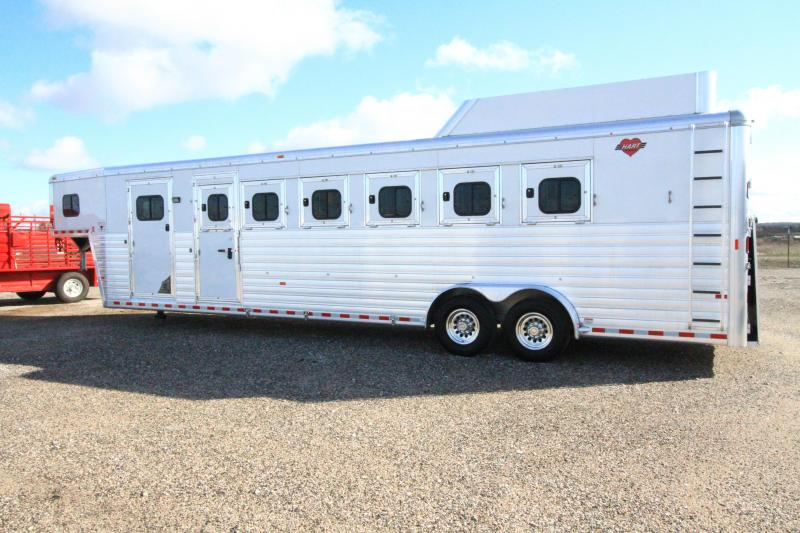 2019 Hart Tradition 6H GN Trailers Trailer