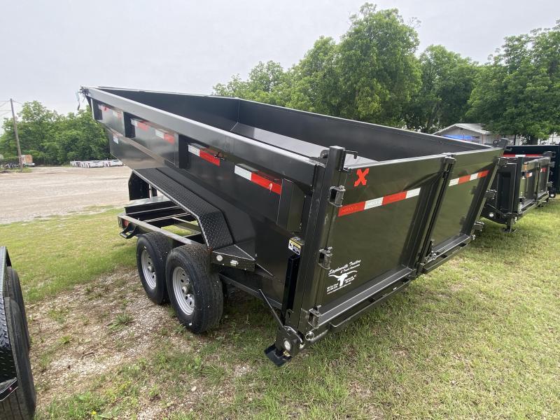 2021 MAXXD 14' BP Dump - 3' Sides - Tapered