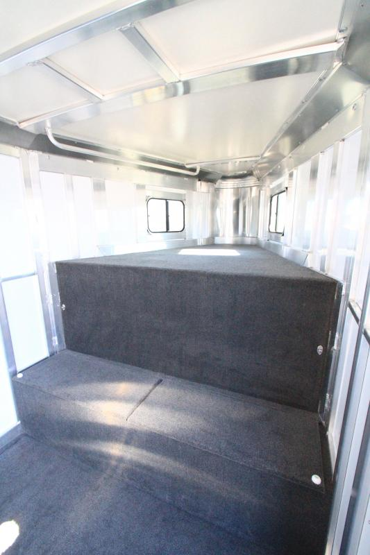 2021 Hart Solution 3H GN Horse Trailer