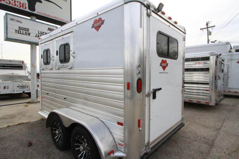 2021 Hart Solution 2H BP Horse Trailer
