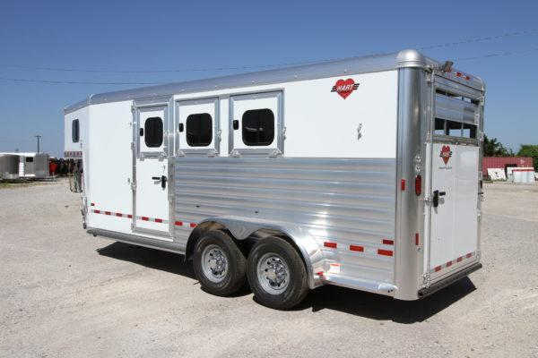 2019 Hart Solution 3H Using Horse Trailer