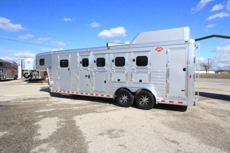 2020 Hart 4H/GN Smart Tack Horse Trailer