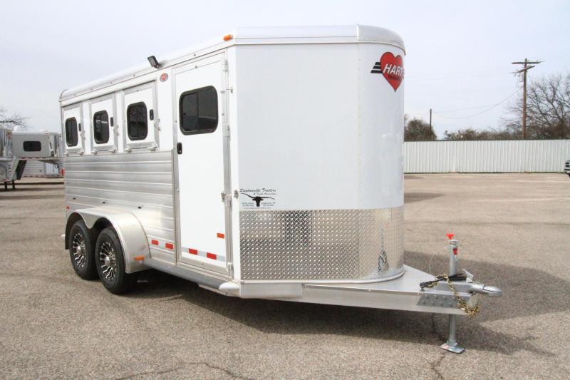 2020 Hart MVP 3H BP Horse Trailer