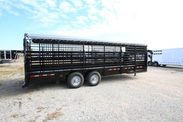 2019 CM Brush Buster GN 24' Stock Trailer